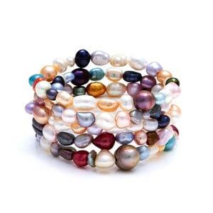 Barevný perlový náramek Kyoto Pearl Ciliata