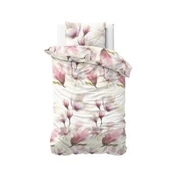 Lenjerie de pat din bumbac satinat, pentru pat de o persoană DH Satin Wild Olivia Touch, 140 x 200 cm