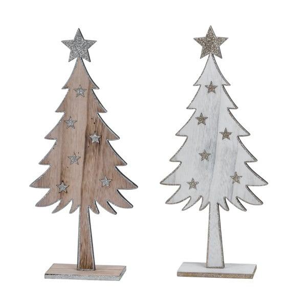 Vianočná dekorácie v tvare stromčekov Ego Dekor Traseo