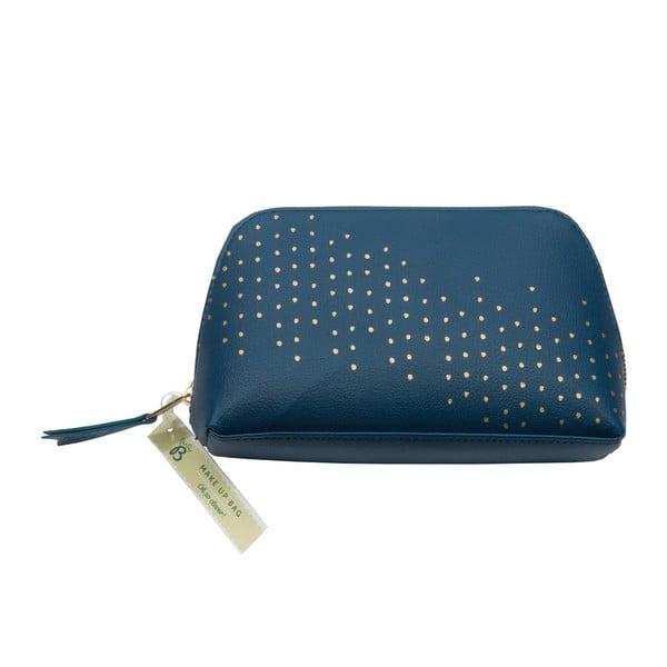 Modrá kosmetická taštička Busy B Diamond