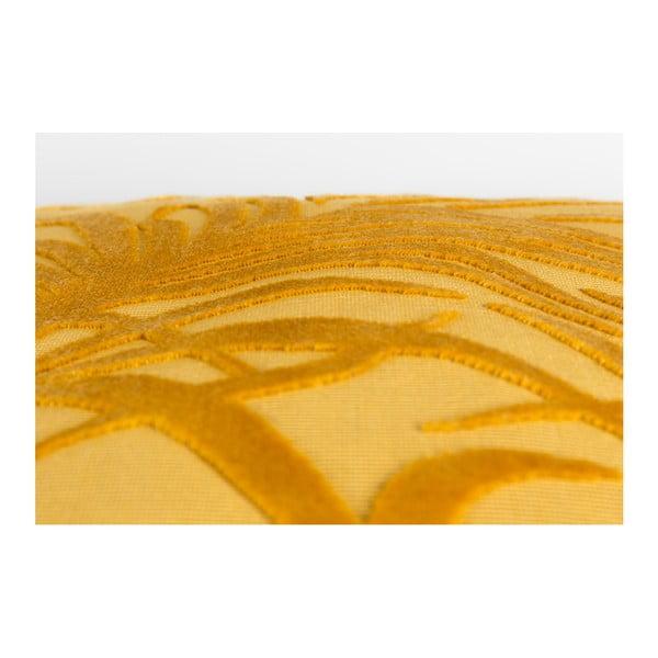 Žlutý polštář s výplní Zuiver Miami, 45x45cm