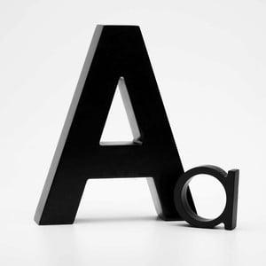 """Malé """"a"""" 5x5 cm, černá"""