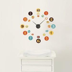 Znovu snímatelná samolepka hodin Time2Clock