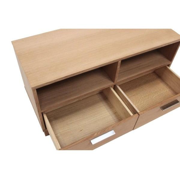 Televizní stolek se 2 zásuvkami Canett Capella