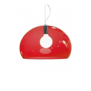Červené stropní svítidlo Kartell Fly