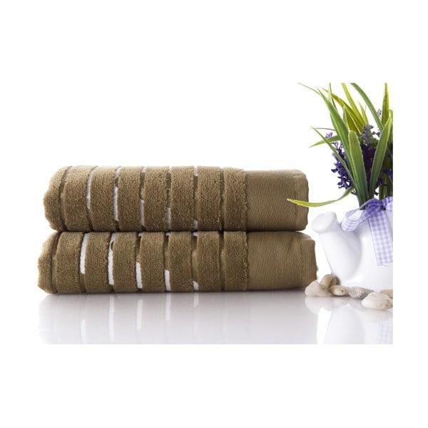 Set dvou ručníků Sport Green, 50x90 cm