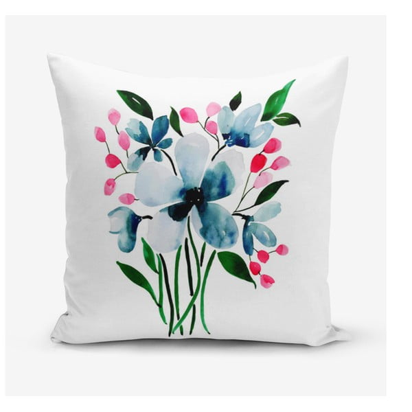 Față de pernă Minimalist Cushion Covers Modern Flower, 45 x 45 cm