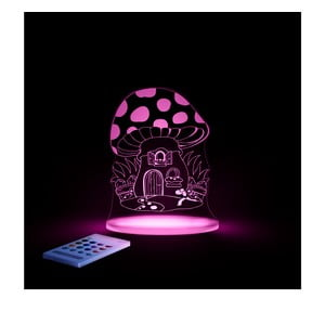 Dětské LED noční světýlko Aloka Toadstool