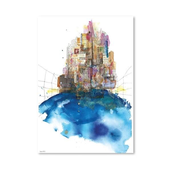 Plakát Skylines, 30x42 cm