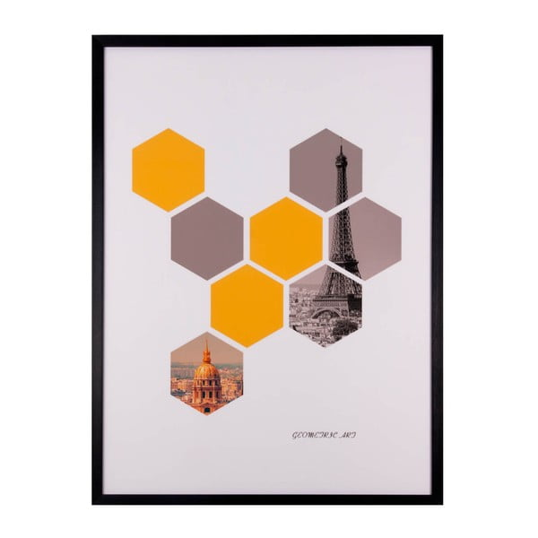 Tablou Sømcasa Hexagons, 60 x 80 c