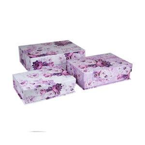 Sada 3 úložných boxů Tri-Coastal Design Rosie