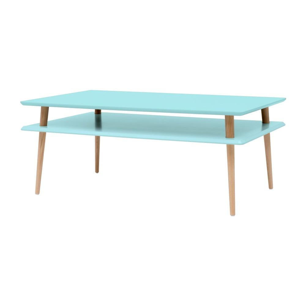 Světle tyrkysový konferenční stolek Ragaba KORO