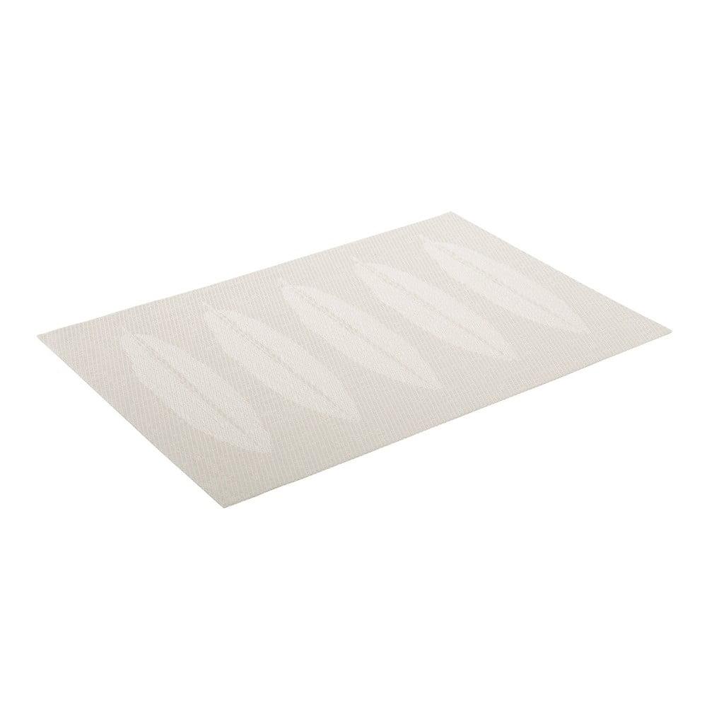 Bílá kuchyňská podložka Unimasa, 45 x 30 cm