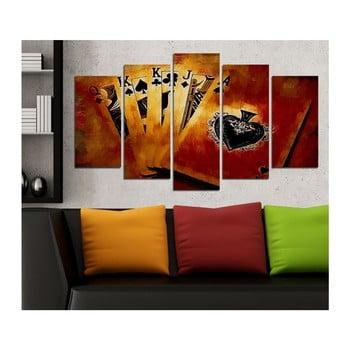 Tablou din mai multe piese 3D Art Ganilo, 102 x 60 cm