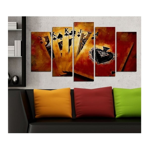 Obraz wieloczęściowy 3D Art Ganilo, 102x60 cm