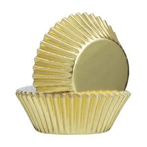 Sada 32 ks papírových košíčků ve zlaté barvě Mason Cash Baking