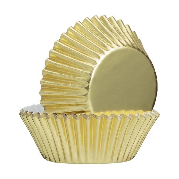 Baking 32 darab aranyszínű papírkosár - Mason Cash