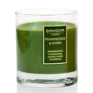 Vonná svíčka Bahoma Noel, vůně kadidla a myrhy, 75 hodin hoření