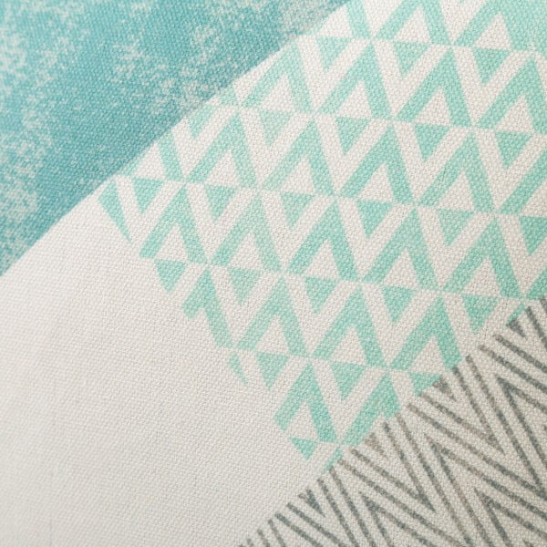 Sada 2 světle modrých polštářů z bavlny Unimasa Cube, 45 x 45 cm
