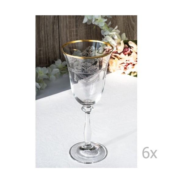 Sada 6 sklenených pohárov Tryfonos, 250 ml
