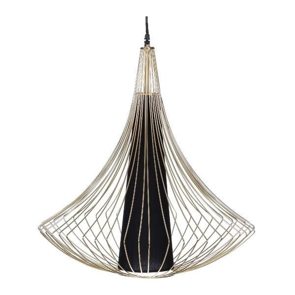 Stropní světlo Golden Cage, 57x71,5 cm
