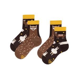 Sada 2 párů dětských ponožek Many Mornings Fluffy Alpaca, vel.31-34