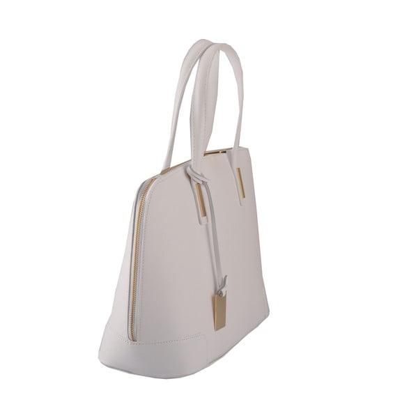Kožená kabelka Rena, šedá