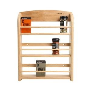 Raft din lemn pentru mirodenii T&G Woodware Scimitar, pentru 18 borcănele