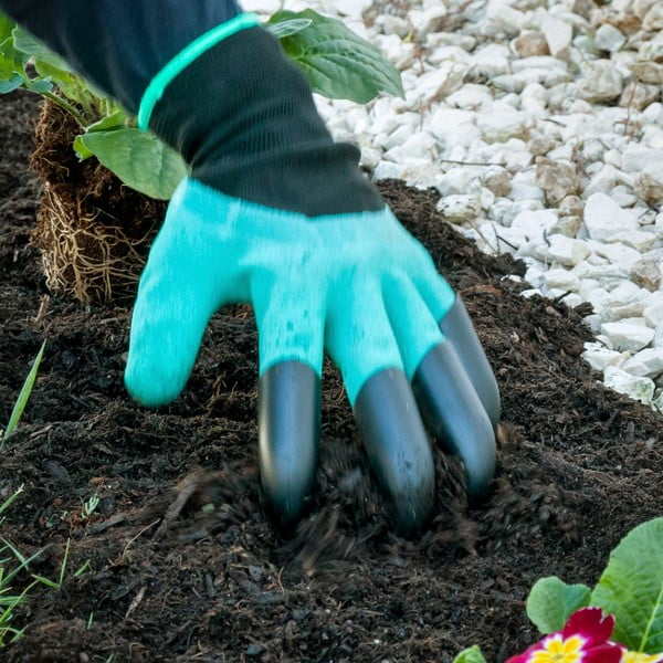 Zahradní rukavice naokopávání InnovaGoods
