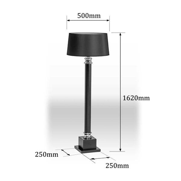 Stojací lampa Regents Park, 162 cm