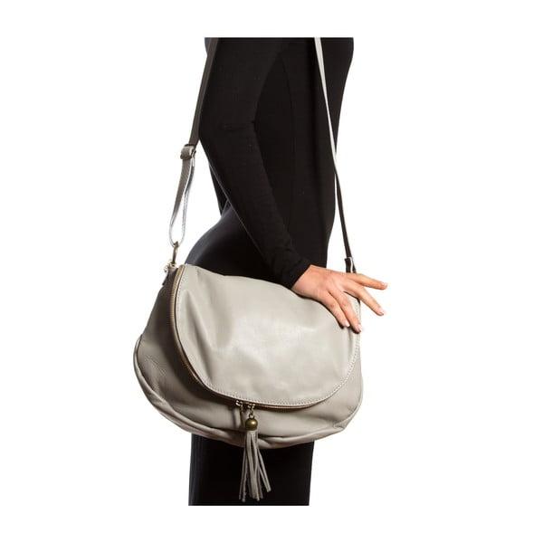 Kožená kabelka Isabella Rhea 2053, šedá