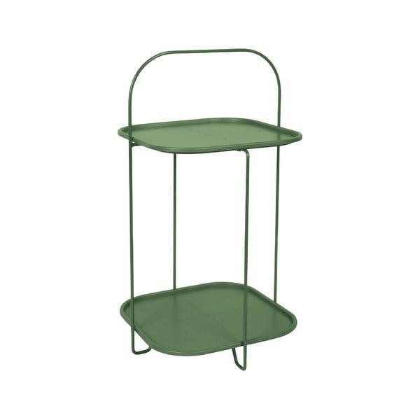 Trays sötétzöld tárolóasztal - Leitmotiv