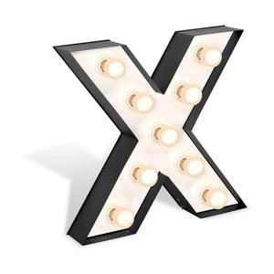 Volně stojící světelná dekorace ve tvaru písmene Glimte Lamp Floor X