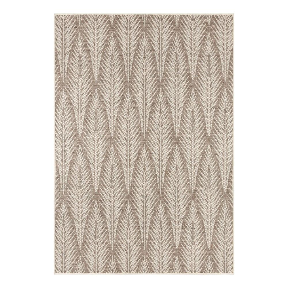 Hnědobéžový venkovní koberec Bougari Pella, 200 x 290 cm