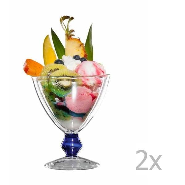 Sada 2 skleněných pohárů bloomix Billy