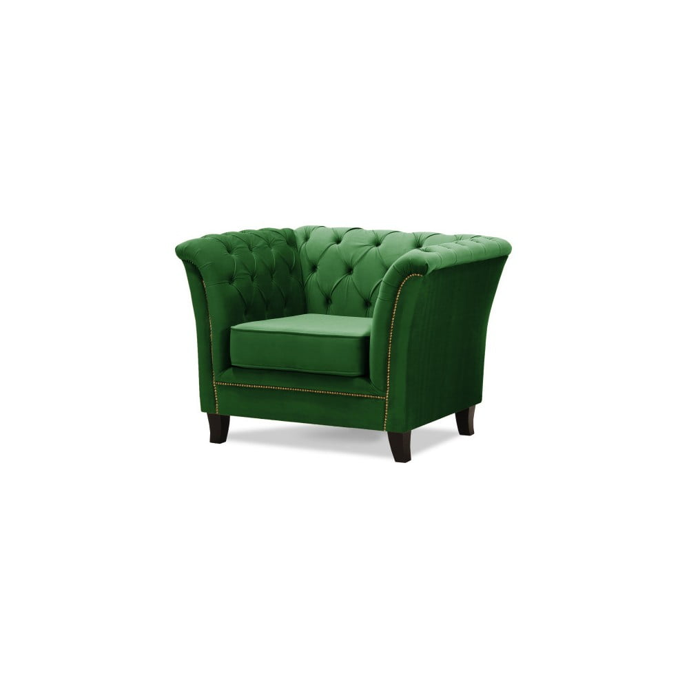 Zelené křeslo Wintech Newport