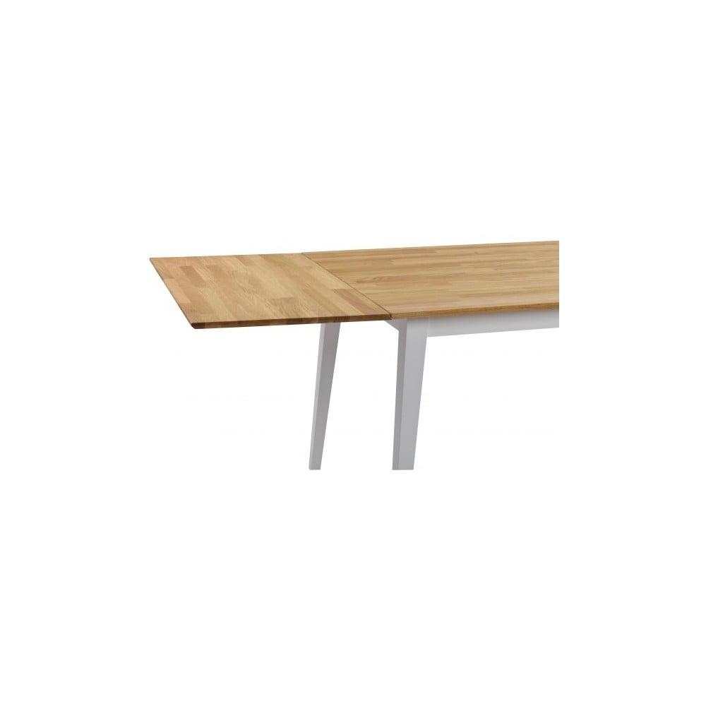 Dubová deska k prodloužení rozkládacího dubového jídelního stolu Folke Mimi