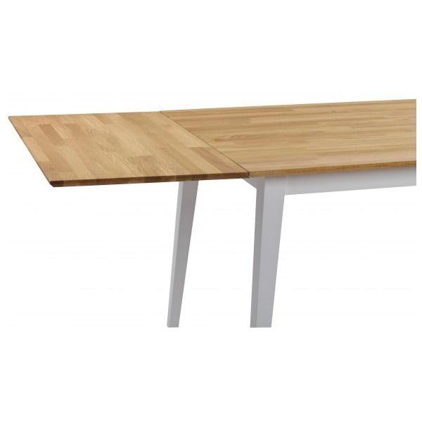 Dodatkowy blat dębowy do rozkładanego stołu Rowico Mimi