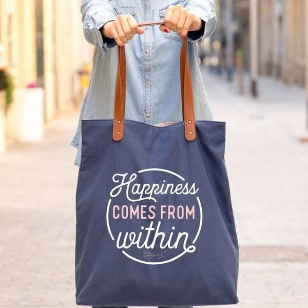 Bavlněná taška Mr. Wonderful Happiness