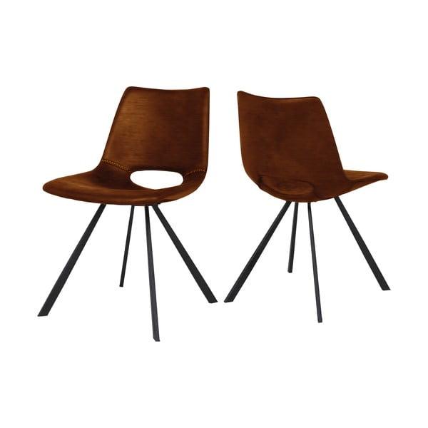 Hnědá jídelní židle Canett Coronas