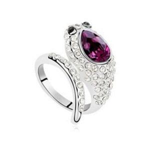 Prsten s krystaly Swarovski Salazar Noble, velikost 52
