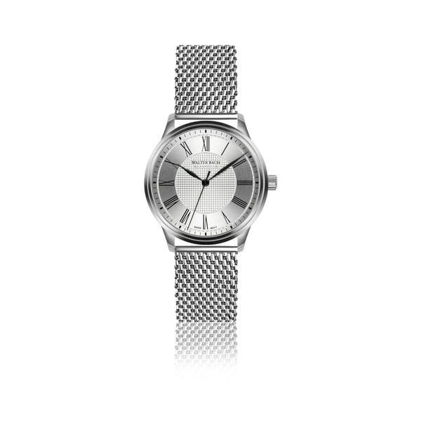 Pánské hodinky s páskem z nerezové oceli ve stříbrné barvě Walter Bach Finally
