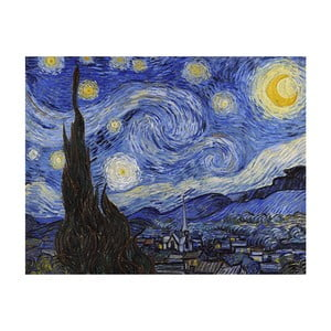 Tablou Vincent van Gogh - Starry Night, 50x40 cm