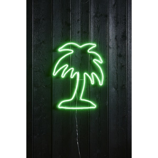 Decorațiune de perete cu neon Best Season Flatneon Palm