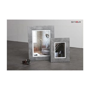 Šedý rámeček s bílou paspartou na fotografii Styler Lahti, 30x40cm