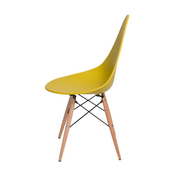 Sada 2 žlutých židlí D2 Rush DWS
