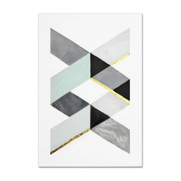 Ręcznie malowany obraz JohnsonStyle The DNA, 60x90 cm