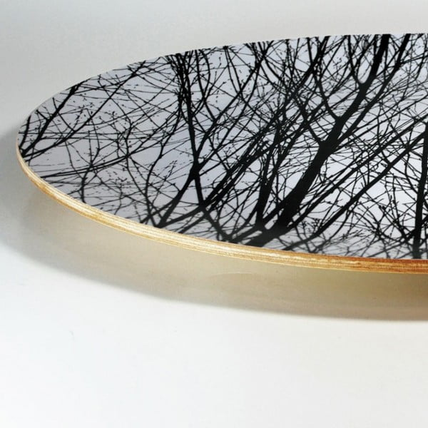Dřevěný talíř Young Trees