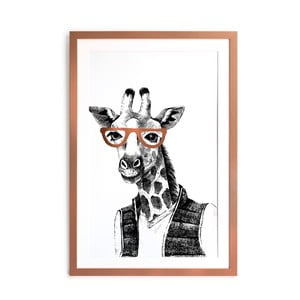 Obraz Really Nice Things Giraffe, 40 x 60 cm