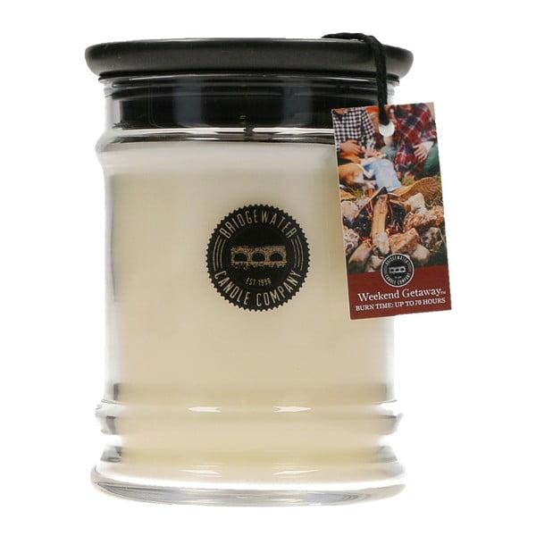 Svíčka s vůní ve skleněné dóze Bridgewater candle Company Getaway, doba hoření 65 - 85 hodin